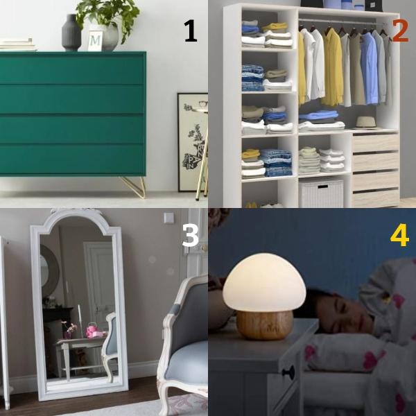 Bedroom items part 1