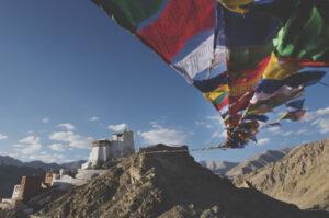 Le ciel du Tibet abat les avions qui le survolent