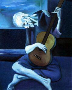 Le vieux guitariste aveugle - Pablo Picass
