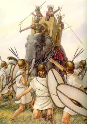 Hannibal face aux Romains